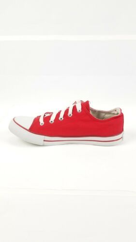 San Francisco SF Unisex Adult Converse Slip On Shoes Size 8m Red Campus Footnote image 3