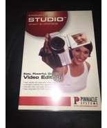 Pinnacle Studio Version 9 UPGRADE Software 2 Discs Video Editing Sys Com... - $18.62