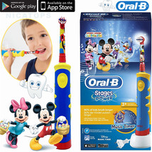 Children Electric Toothbrush Music Timer Rechargeable Ultrasonic Cepillo Dental - $69.05