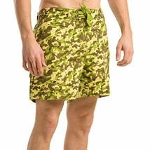 Bleu Royale Men's Camouflage Swimming Trunks Size M