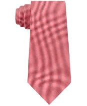 Tommy Hilfiger Men's Classic Neat Silk Tie (Red, One Size) - $49.95