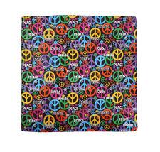 "12 Pack Gradient Rainbow Cotton Head Wrap Scarf Bandana Ombre Colors 22"" X 22"" image 14"