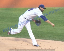 Original Jason Hammel Chicago Cubs Game Action Pic Various Sizes PhotoArt - $3.99+