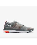 NIKE Women's Free Transform Flyknit Training Shoe size 12 Cool Grey 8334... - $119.95