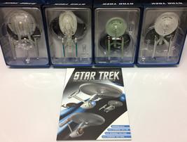 ERROR! Eaglemoss Star Trek 4 Set Starships Collection ~ Original TV Ente... - $197.99