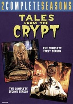 TALES FROM THE CRYPT - THE COMPLETE SEASONS 1 & 2 NEW DVD - $70.50
