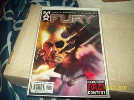 Fury #1 (Nov 2001, Marvel) - $3.00