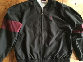 Champion Brand Jacket Coat Large Vintage 3 Seasons Black Red Mint - $20.94