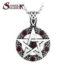Pendants, steel stainless steel accessory star fashion popular jewelry BP8-003 - $23.99