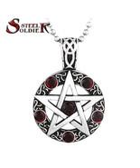 Pendants, steel stainless steel accessory star fashion popular jewelry B... - $23.99
