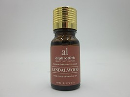 Premium Aromatherapy Sandalwood Essential Oil 100% Organic Pure Undiluted Therap