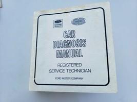 Ford Car Diagnostic Service Tech Manual - $59.39