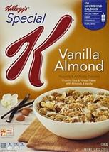 Kellogg's Special K Cereal  Vanilla Almond, 12.4 Oz - $14.56