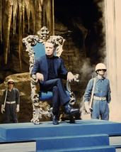 Patrick Mcgoohan As Number Six Sitting On Throne Chair The Prisoner 16x20 Canvas - $69.99