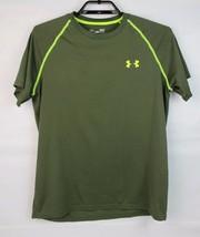Under Armour loose men's heat gear t-shirt green short sleeve size SM/P/P - $11.67