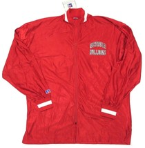 Nwt Russell Athletic Georgia Bulldogs Red Warm Up Ncaa Athletic Jacket Size 46 - $69.25