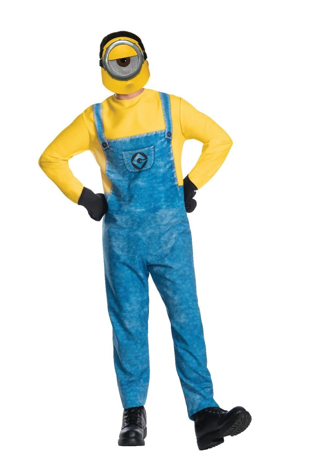 Rubies Mel Minion Despicable Me 3 Gru Movie Adult Mens Halloween Costume 820511