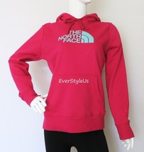 THE NORTH FACE Women's Half Dome Hoodie Spring Fall Winter Hoodie-Cerise... - $44.97