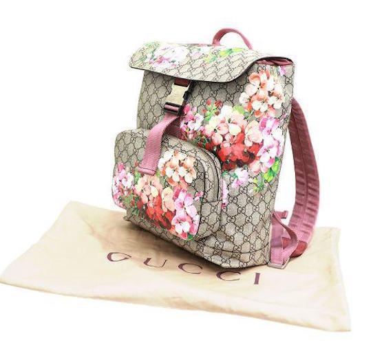 0f5715061401 GUCCI Blooms Backpack Rucksack Bag 405019 GG and 50 similar items. 57