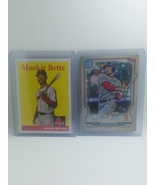 Mookie Betts 2019 Topps Archive & 2020 Topps Gypsy Queen 2 Card Lot - $2.00