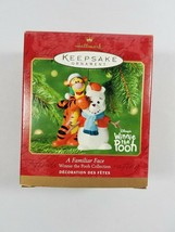 Hallmark Keepsake A FAMILIAR FACE Winnie The Pooh Tigger Christmas Ornam... - $19.79