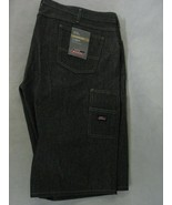 Dickies Work Shorts Loose Fit Men's 44 Double Tool Pocket Denim - $29.69