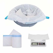 SPKLANDS Commode Liners with Absorbent Gelling Pad 28 Count Disposable A... - $36.67