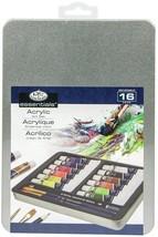 Acrylic Painting Art Set W/Tin-  - $25.31