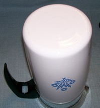 Corning Ware BLUE CORNFLOWER Electric Coffee Pot/Percolator 10 cup P-80-EP EUVC image 8