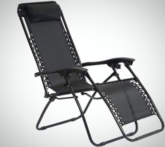 Gravity Foldable Chair Outdoor Garden Patio Por... - $65.78