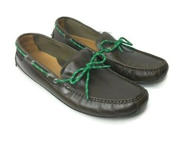 Cole Haan Mens 13 Grant Driver Moccasins Canoe Camp Moc Slip On Brown C... - $64.34