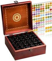 Beautiful Essential Oil Storage Box Organizer - Hold 36 5-15ml & 10ml Ro... - $29.43