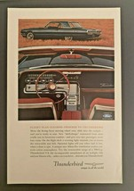 1964 Ford Thunderbird Coupe and Convertible Original Print Ad - $5.94
