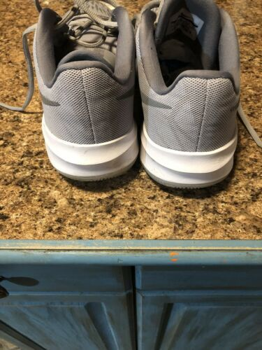 Wow!! Mens Nike Zoom Evidence II Wolf Grey High-Top Basketball Shoes!!(13)908976 image 3