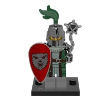 1 Pcs Medieval Military Frightening Knight With Equipment Fit Lego Block... - $6.99