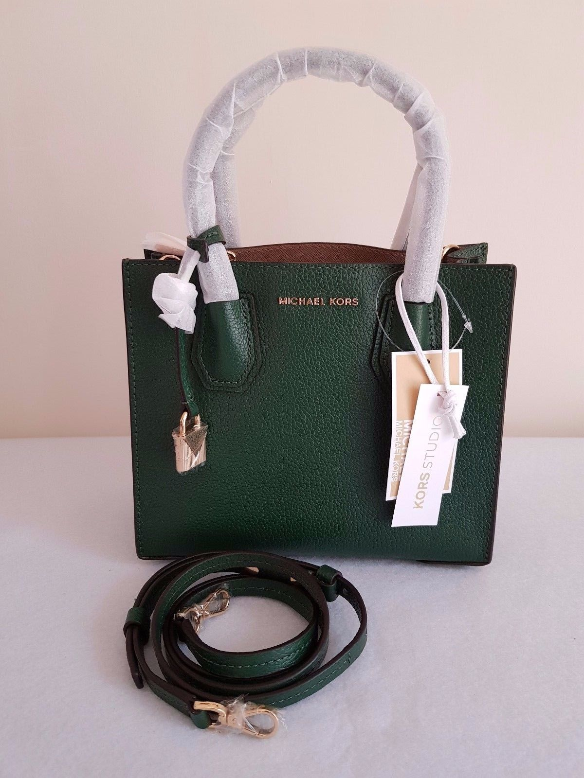 72994f3ed8c4 MICHAEL KORS Mercer Leather Crossbody and 50 similar items. S l1600