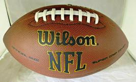 PATRICK MAHOMES / AUTOGRAPHED FULL SIZE NFL LOGO WILSON BRAND FOOTBALL / COA image 2