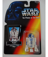 1995 Star Wars POTF R2-D2 With Light-Pipe Eye Port Retractable Leg Actio... - $13.00
