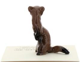 Hagen-Renaker Miniature Ceramic Figurine Ferret Standing image 3