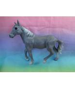 Greenbrier International Plastic Farmhouse Grey Horse Figure - as is  - $2.35