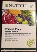 Nutrilite Perfect Pack -60 pouches - Includes NEW Nutrilite Double X PHYTOPROTET - $200.00