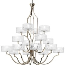 P4685-104Wb Transitional 16 Light Chandelier From Caress Co.. - $3,628.99