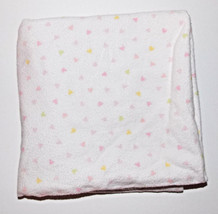 Circo Heart Receiving Blanket Pink 29x27 Security Lovey Baby Girl Yellow... - $191,98 MXN