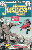 Justice Inc. Comic Book #2, DC Comics 1975 VERY GOOD+ - $4.75