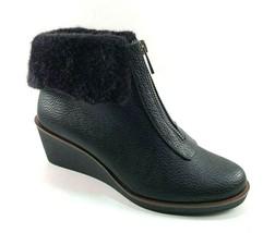 A2 by Aerosoles Bintegrity Black Mid Wedge Ankle Bootie Size 9 - $47.40