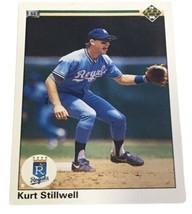 1990 Upper Deck #361 Kurt Stillwell Kansas City Royals Baseball Card Sports - $5.00