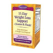 Natures Secret 15-Day Weight Loss Cleanse and Flush 60 Tablets - $15.49