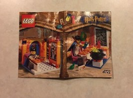 INSTRUCTIONS ONLY LEGO HOGWARTS CLASSROOM 4721 Harry Potter Manual - $7.50