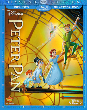 Disney Peter Pan (Blu-ray/DVD, 2-Disc Set, Diamond Edition)