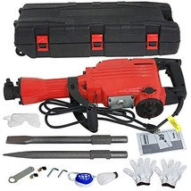 Smartxchoices Electric Hammer Demolition Jack Hammer Drill Concrete Brea... - $162.71